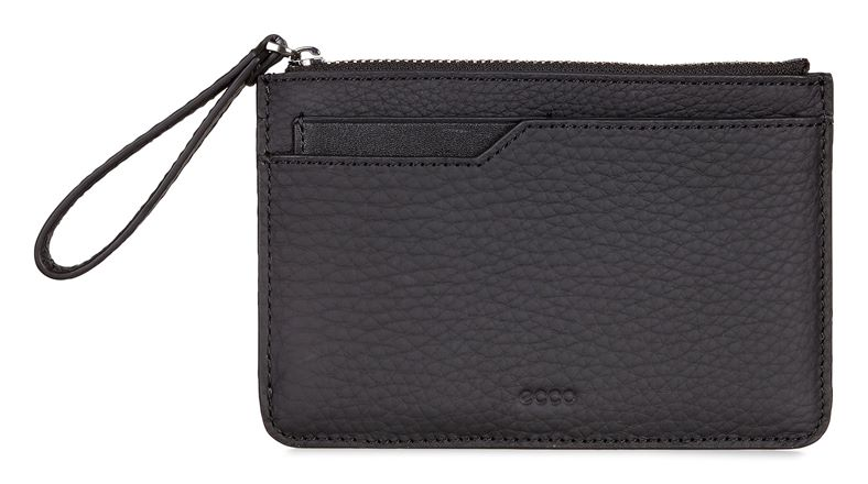 Jilin Zipped Wallet (黑色)