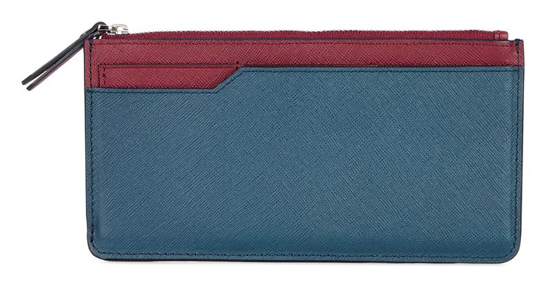 Iola Long Travel Wallet (Verde)