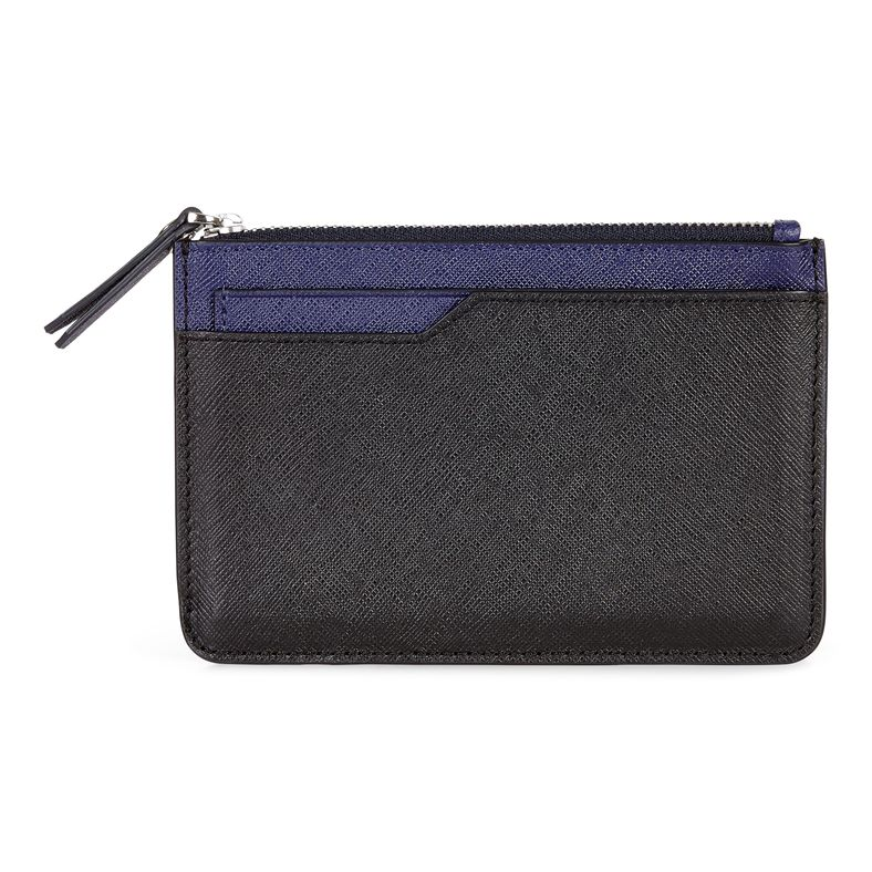 Iola Small Travel Wallet (Preto)