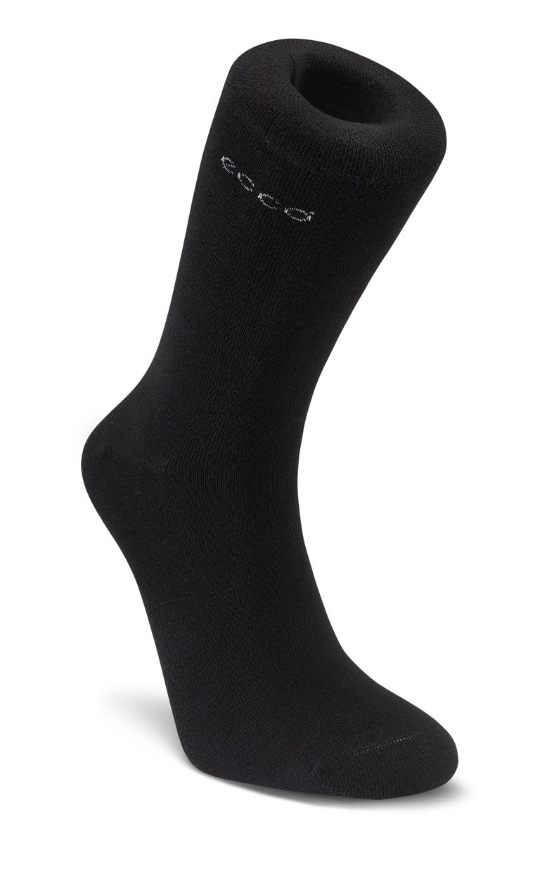 Bamboo Crew Sock (Black)