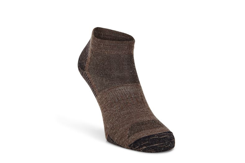 Everyday Quarter Sock (Castanho)