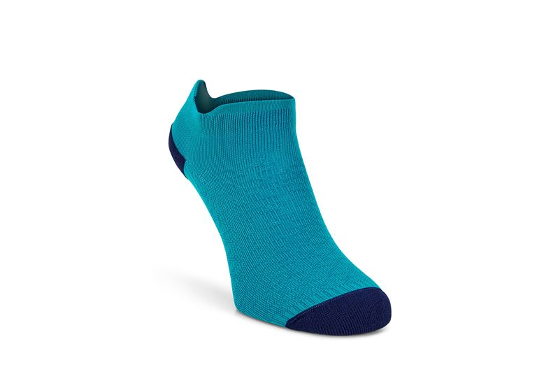 Active Low-Cut Sock (أزرق)