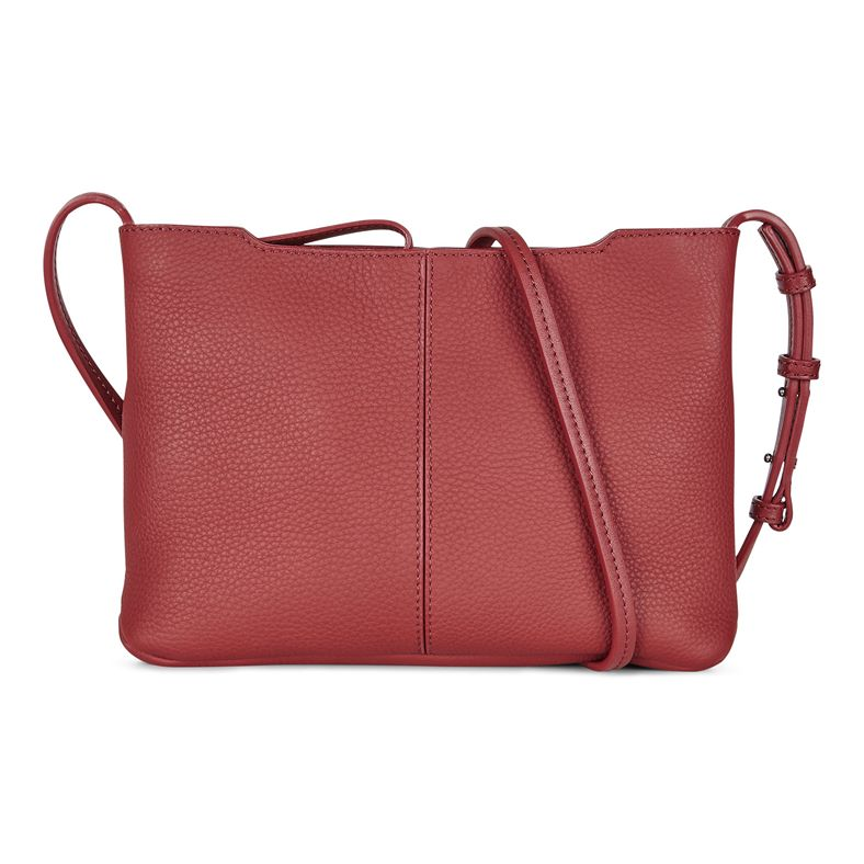 Jilin Small Crossbody (أحمر)