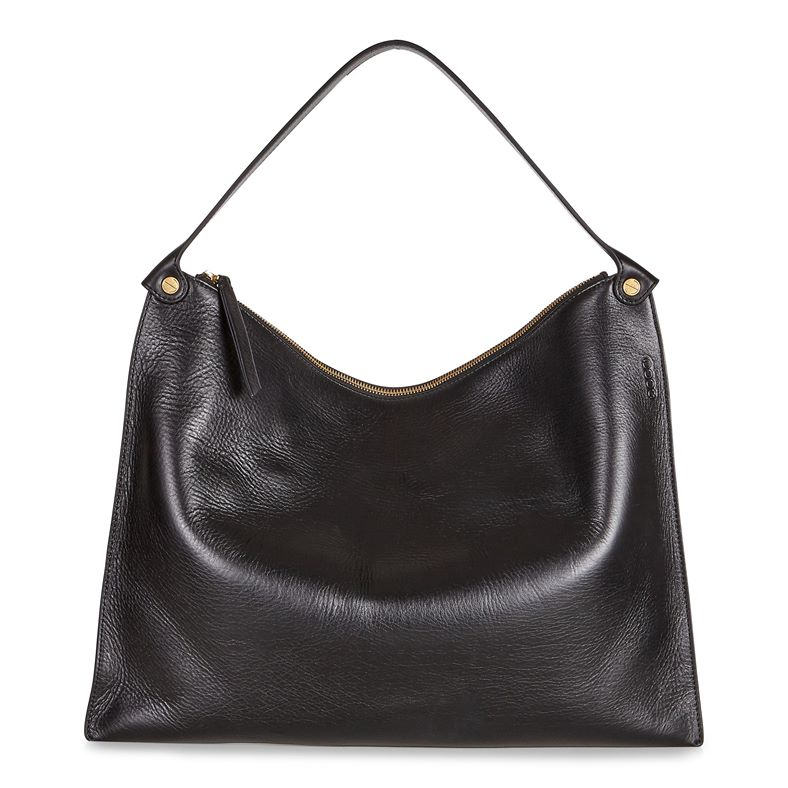 Sculptured Shoulder Bag (Negro)