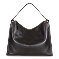 Sculptured Shoulder Bag (Nero)