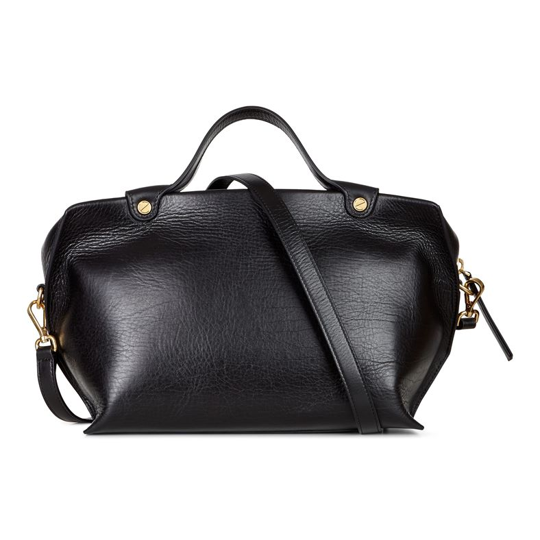 Sculptured Handbag (Black)