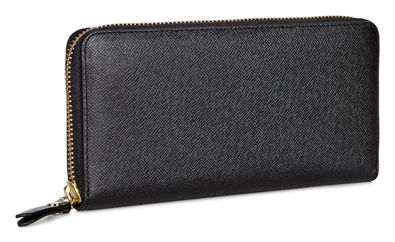 Iola Large Zip Wallet (Nero)