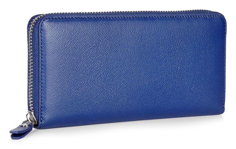 Iola Large Zip Wallet (Kék)