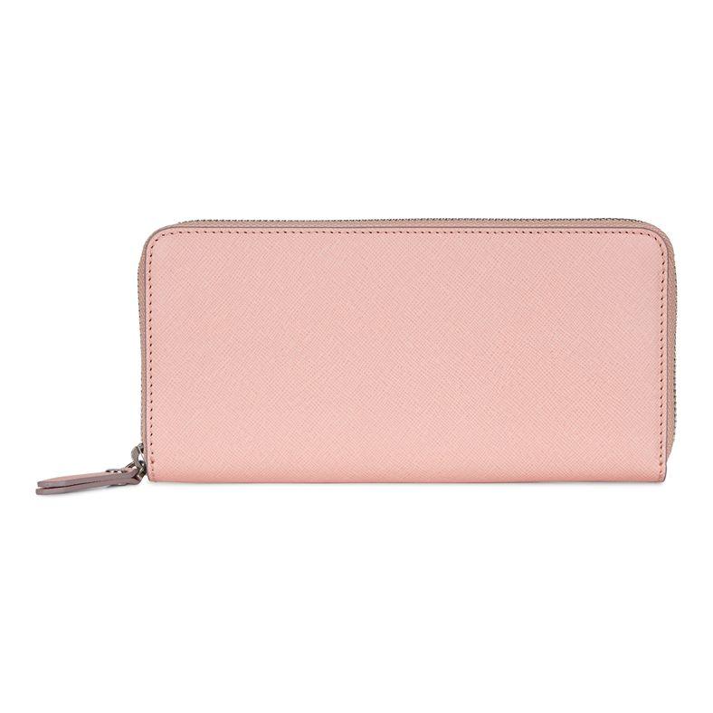 Iola Large Zip Wallet (Rojo)