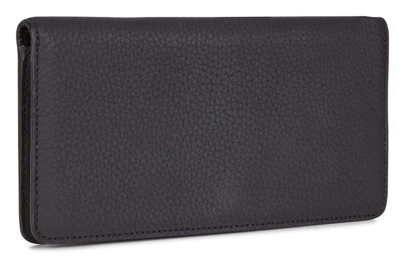Jilin Large Wallet (أسود)