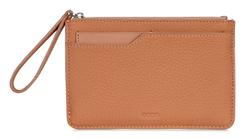 Jilin Zipped Wallet (Brown)