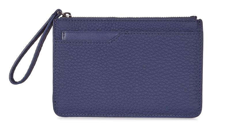 Jilin Zipped Wallet (Blue)