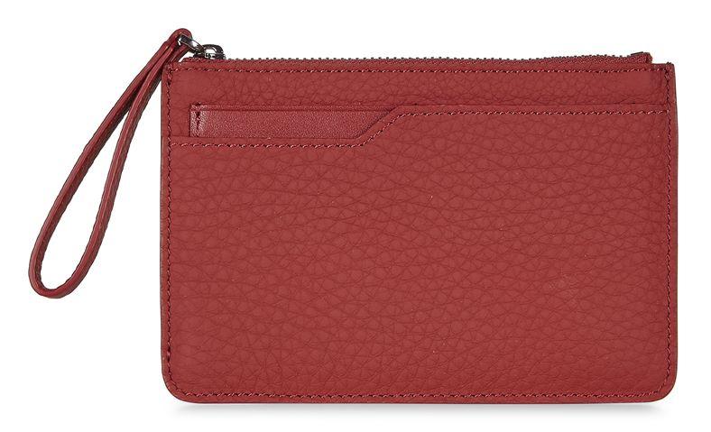 Jilin Zipped Wallet (Rojo)