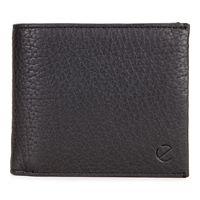 Arne RFID Flap Wallet (Black)