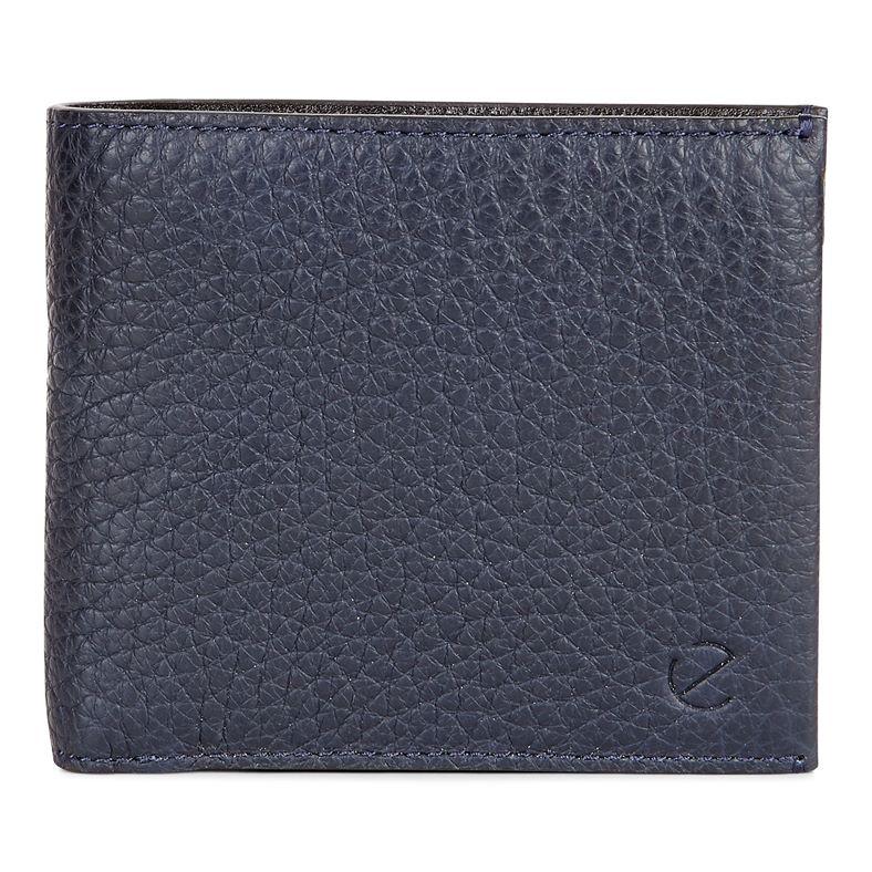 Arne RFID Flap Wallet (Blue)