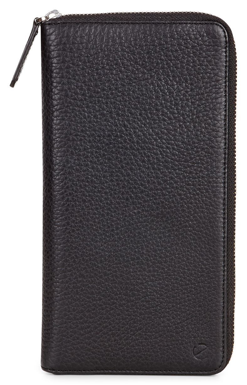 Arne RFID Travel Wallet (Black)