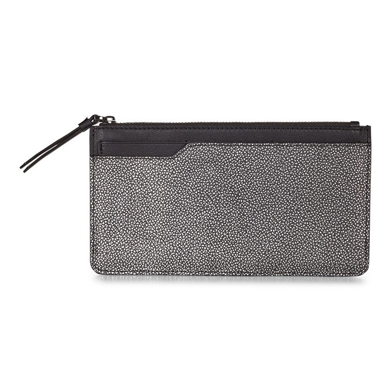 Iola Long Travel Wallet (Black)