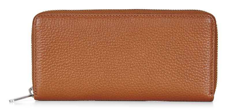 Isan 2 Large Zip Wallet (棕色)