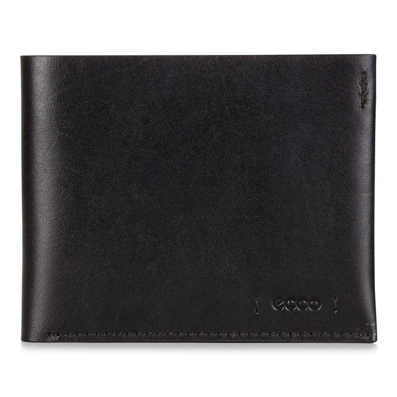 Lars Billfold Coin Wallet (Negro)