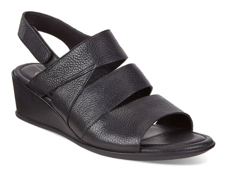 SHAPE 35 WEDGE SANDAL (Nero)