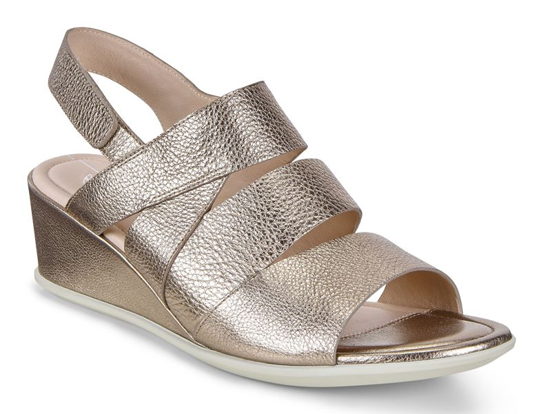 SHAPE 35 WEDGE SANDAL (Cinzento)