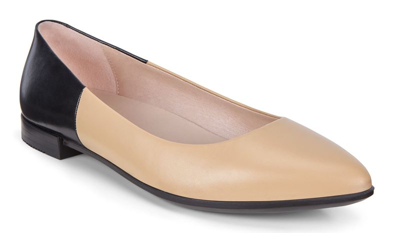 SHAPE POINTY BALLERINA (Brown)