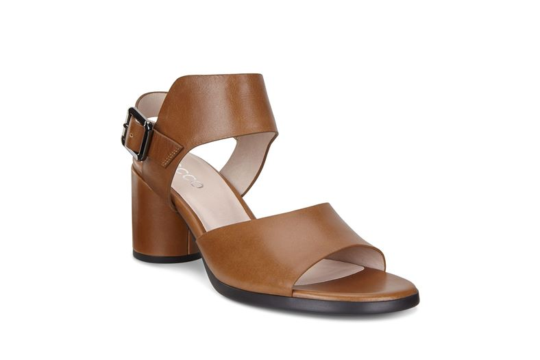 SHAPE BLOCK SANDAL 65 (Brown)