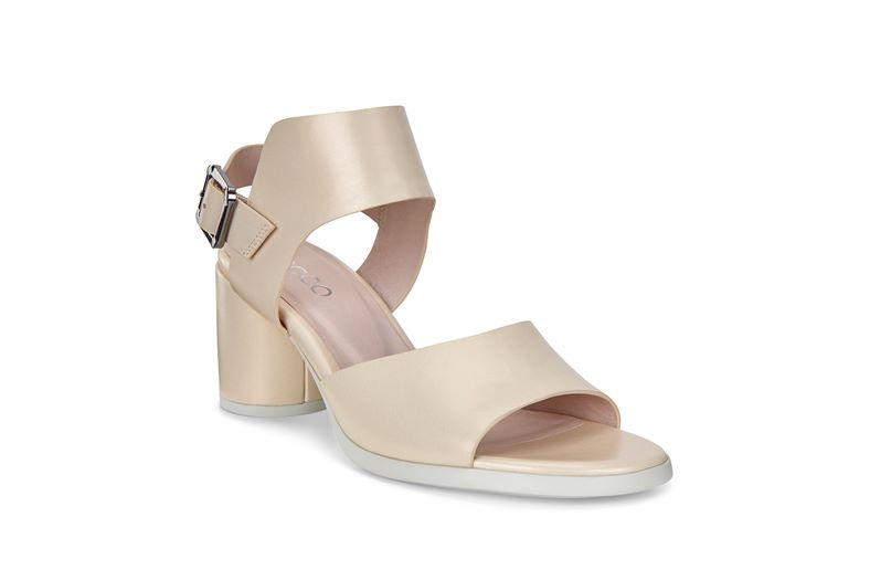 SHAPE BLOCK SANDAL 65 (White)