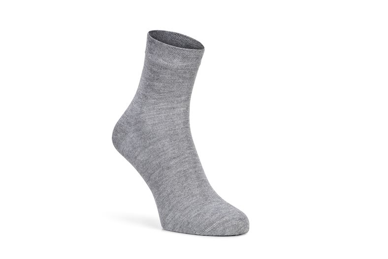 Soft Touch Quarter Sock (Grey)