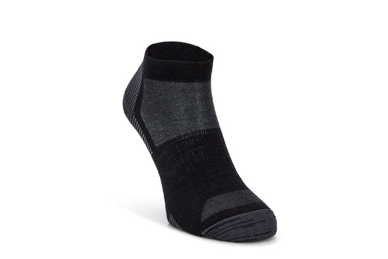 Everyday Quarter Sock (Black)