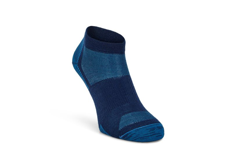 Everyday Quarter Sock (أزرق)