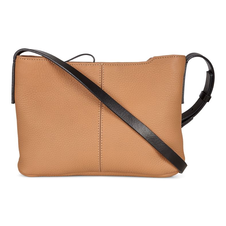 Jilin Small Crossbody (بني)