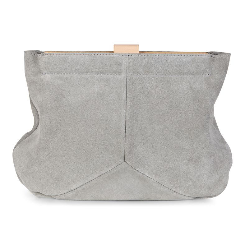 Ella Clutch (Grey)