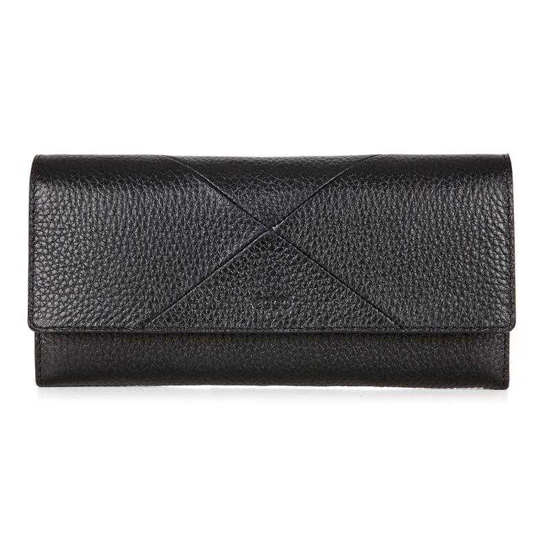 Linnea Continental Wallet (Black)