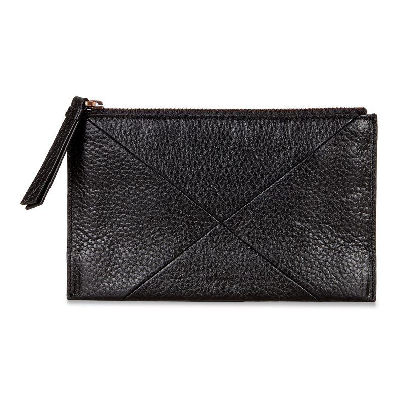 Linnea Pouch Wallet (Black)