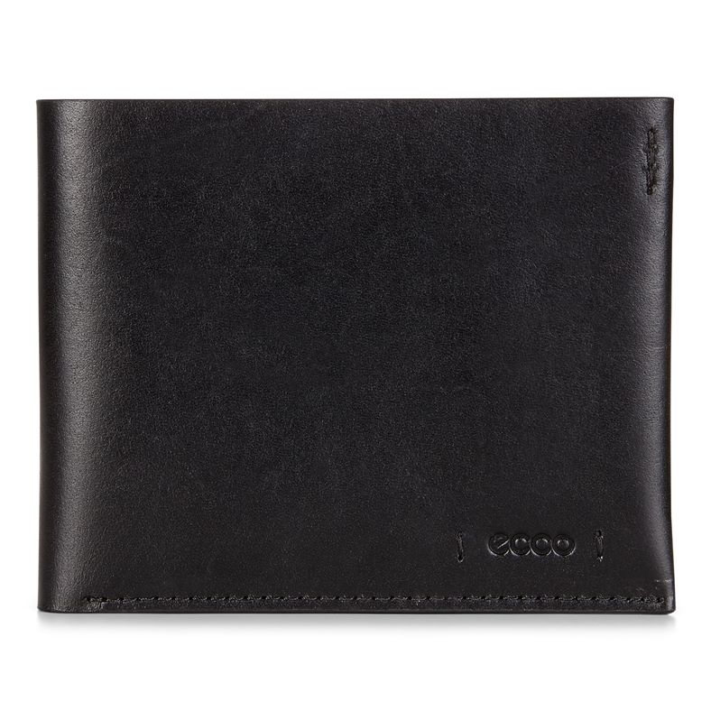 Lars Billfold Coin Wallet (Black)