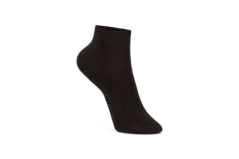 Soft Touch Kids Sock (Preto)