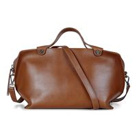 Sculptured Handbag (Brown)