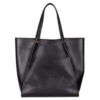 Sculptured Tote (أسود)