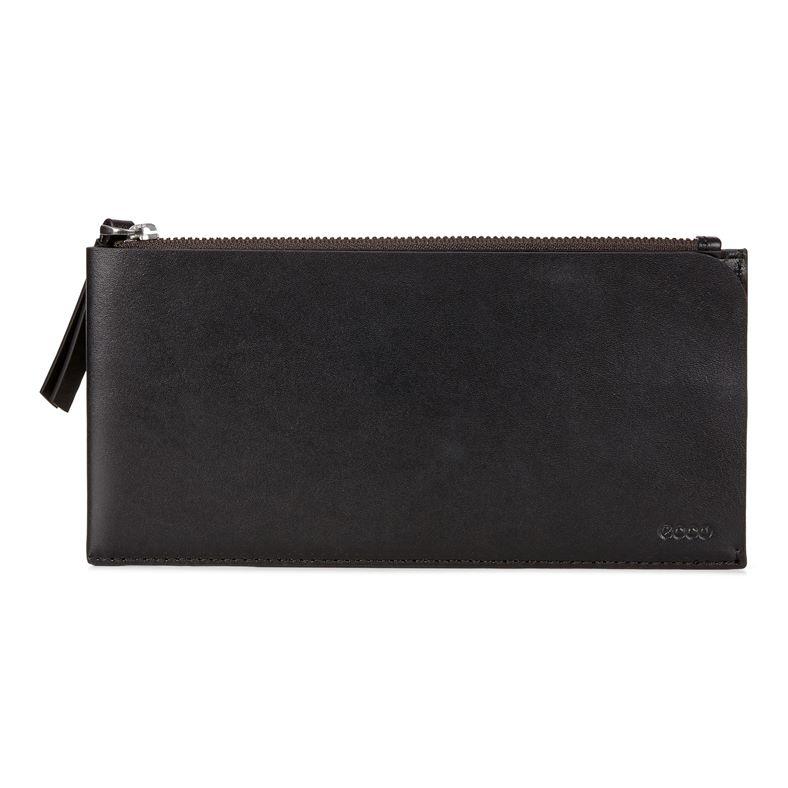 Geometrik Travel Wallet (Nero)