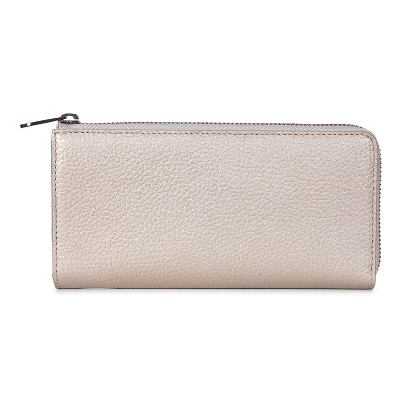 SP 3 Zip Around Wallet (Metallic)