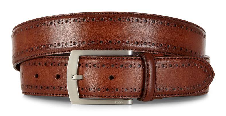 Leif Formal Belt (Marrone)