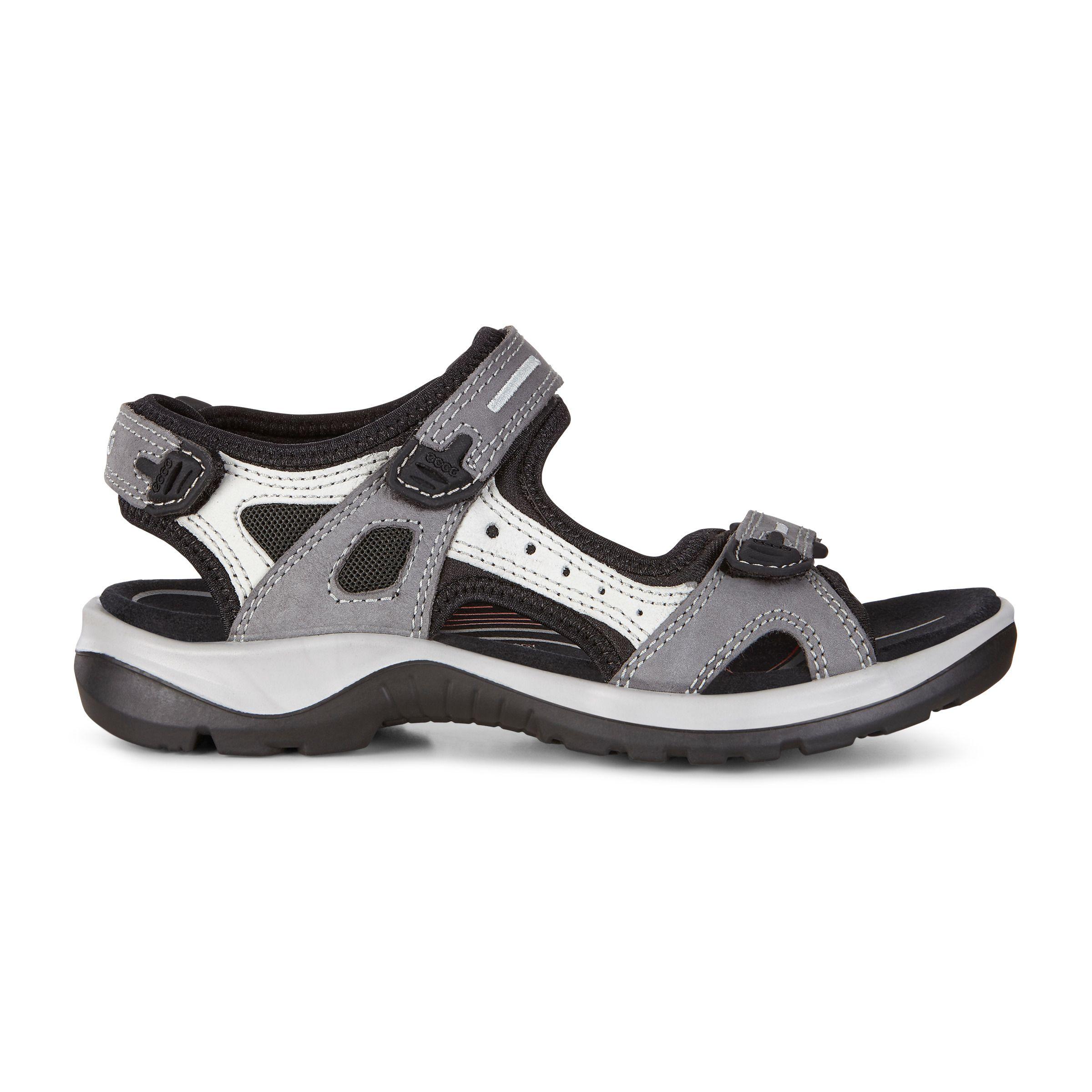 Ecco Receptor Sandals US 8 EU 38 Brown