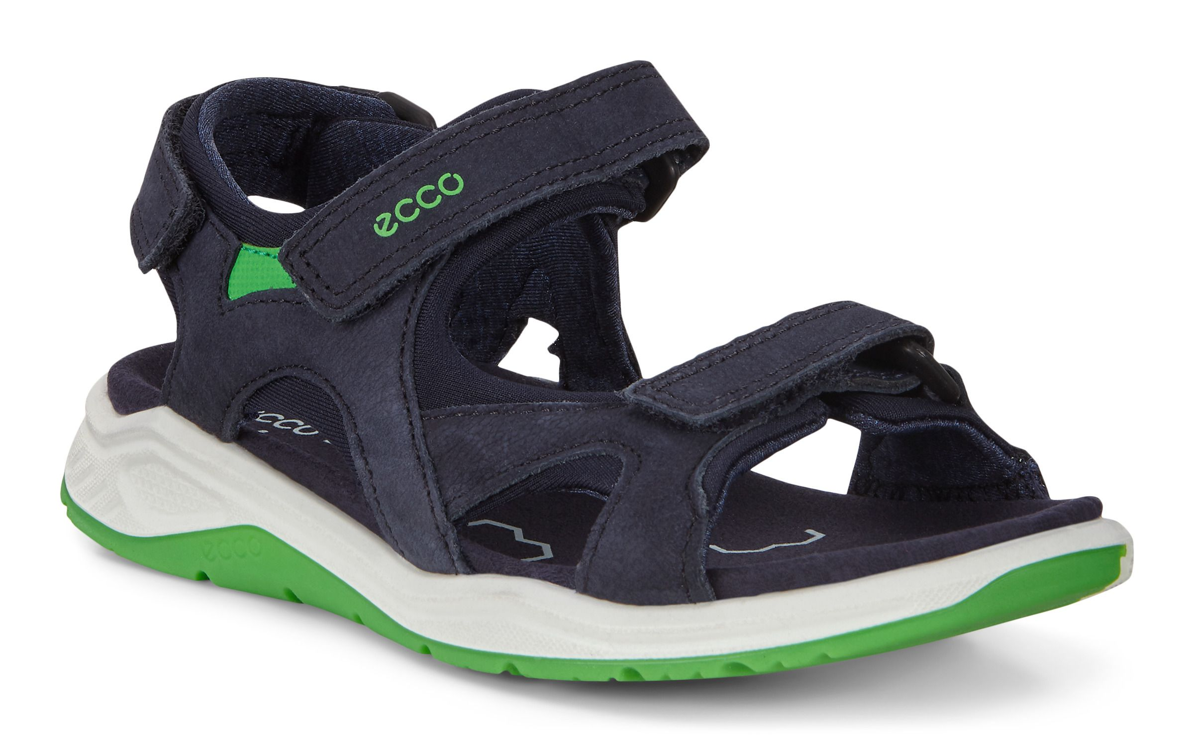 Designs ECCO Babett Womens Sandals In Black Outlet Canada