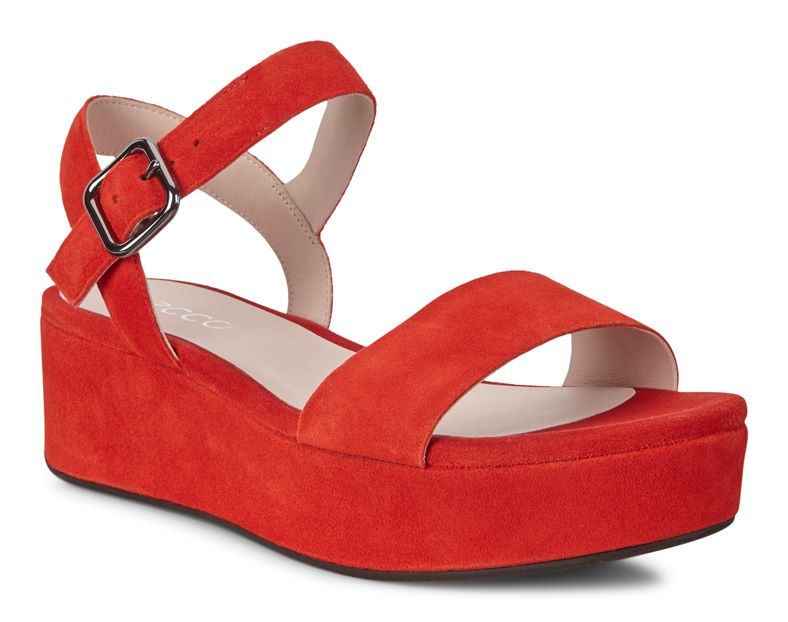 ELEVATE PLATEAU SANDAL (Red)