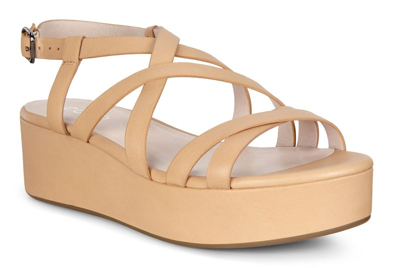 ELEVATE PLATEAU SANDAL (Marrone)