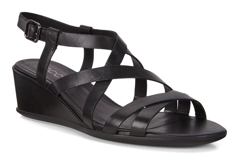 SHAPE 35 WEDGE SANDAL (Preto)