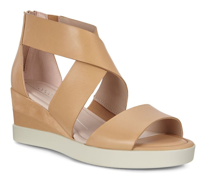 ELEVATE WEDGE SANDEL (Marrone)