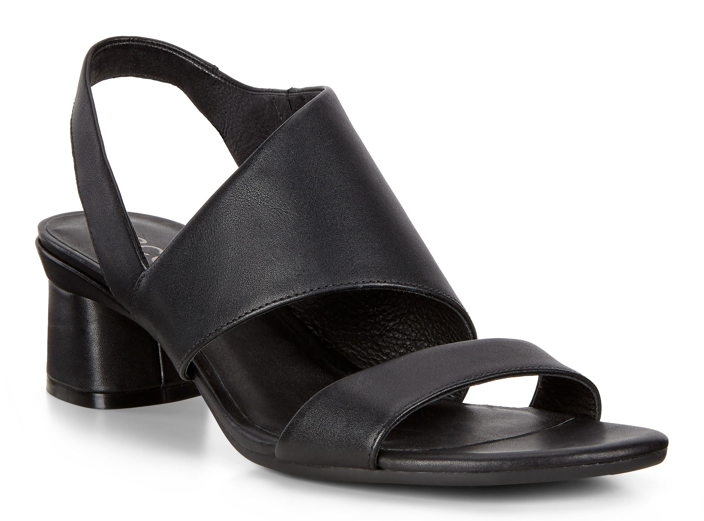 Ecco Women's Soft 5 Cross Strap Sandal Black