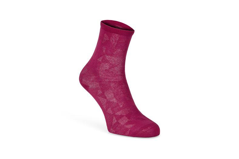 Signature Line Socks (Piros)